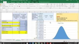 making confidence interval on excel