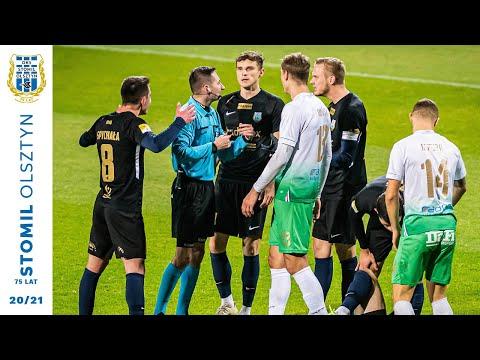 Skrót meczu Stomil Olsztyn - Radomiak Radom 0:1