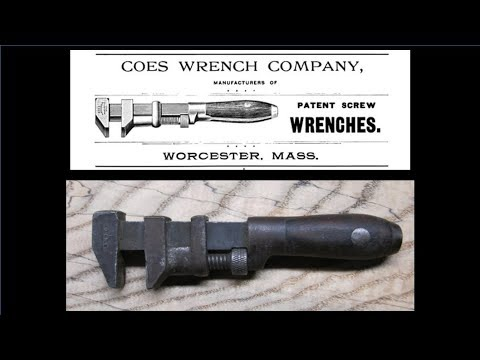 Hand Tool Restoration - Coes Screw Wrench