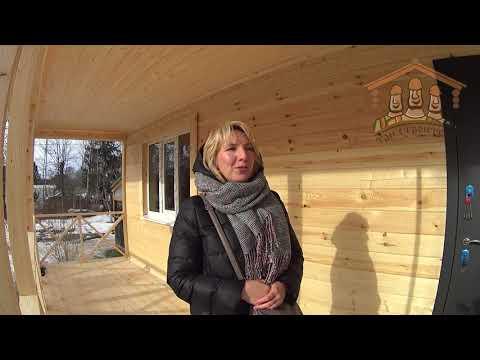 Шенбергер Н.В. - видеоотзыв о строительстве
