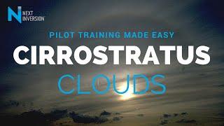 How do you define a Cirrostratus cloud