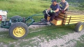 Motocultor Tractor Cu 1000kg