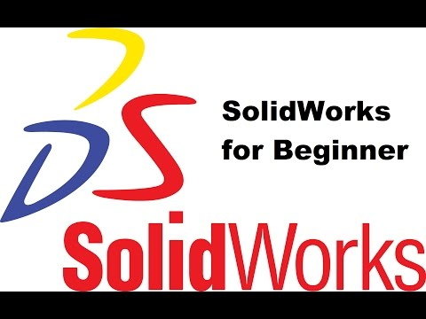 SolidWorks for Beginner Part-01