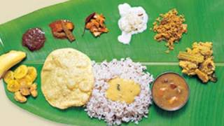 Sadya - Traditional Kerala Vegetarian Feast