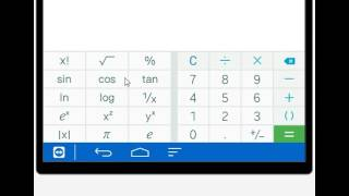 How to use your Android calculator  tablet phone mobile