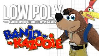 Banjo & Kazooie - Low Poly (Evolution Of Characters In Games) - Episode 8