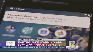 Earthquake warning app sent alert moments before earthquake hit