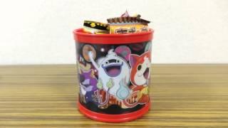 1個500円の妖怪ウォッチクリスマスお菓子ボックスを2種類買ってみた!妖怪メダルは入ってる!_.mp4