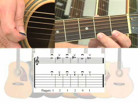 First Guitar Lesson - Free For All Beginners - Easy Acoustic Half Step Mark John Sternal