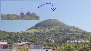 Невероятные видео кадры НЛО 2018