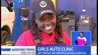 Girls Auto Clinic: A group of female mechanics in Nairobi