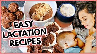 How To Increase Milk Supply Naturally| 4 Recipes To Boost Breast Milk FAST!