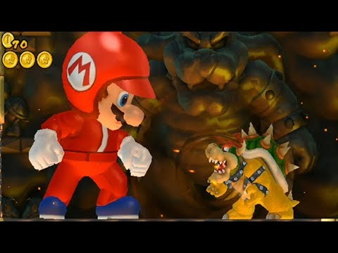 New Super Mario Bros Wii - Giant Mario Hack