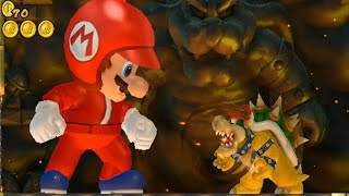 New Super Mario Bros Wii - Giant Mario Hack