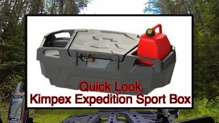 Quick Look At The Kimpex Expedition UTV Sport Box