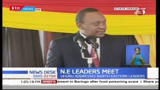 President Uhuru Kenyatta hosts North Eastern Leaders at the State House
