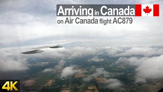 Arriving at Toronto Pearson Int. Airport onboard Air Canada Boeing 777-300 from Zürich Switzerland