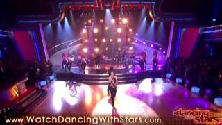 Shakira - Hips Don't Lie performance on DWTS dancing with the stars