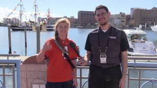 Clemson & Alabama Fans in Tampa Bay for the CFP Fan Experience