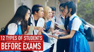 12 Types of Students Before Exams