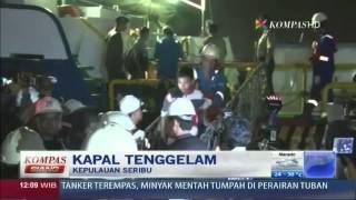 Tim SAR Lanjutkan Pencarian Korban Kapal Tenggelam  Kompas Siang 220114
