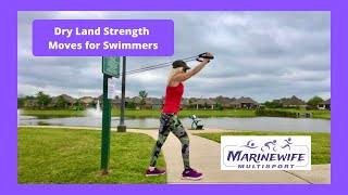Dry Land Strength Moves for Swimmers