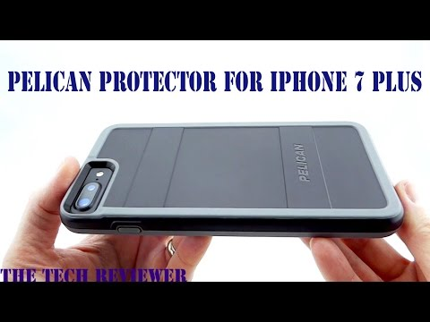 Military Grade Drop Protection, Good Grip and Great Hand Feel: Pelican Protector for iPhone 7 Plus!