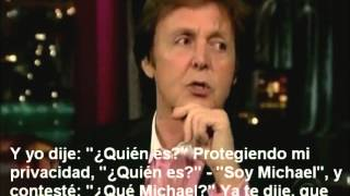 Paul McCartney Habla De Su Supuesta Muerte Y De Su Amistad Con Michael Jackson. Sub Español.