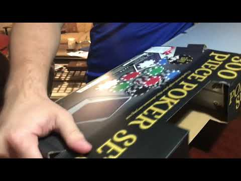 Poker set Unboxing!! 2018