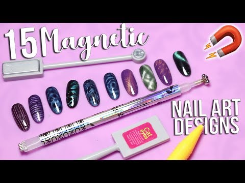 15 Magnetic Nail Art Designs