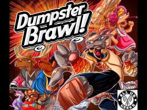 All Us Geeks Initial Impressions: Dumpster Brawl