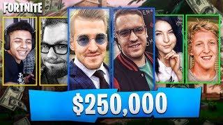 DZIŚ GRAMY W TURNIEJU FORTNITE O 250 TYSIĘCY DOLARÓW!!!