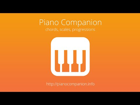 Video of Piano Companion: chords,scales