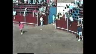preview picture of video 'Fiestas Patronales Cantalpino - Encierro 16-08-91'