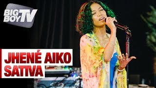 Jhené Aiko Performs 'Sativa' | Big Boy's Backstage W Jhené Aiko