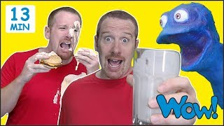Food Story Magic for Kids from Steve and Maggie | English Speaking with Wow English TV - Video Youtube