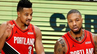 Damian Lillard Drags Reporter For Saying He & C.J. McCollum Are Not A Good Backcourt Duo by Obsev Sports