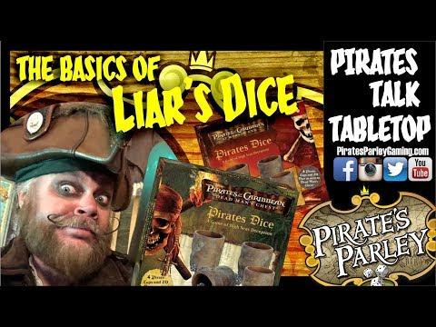 3 common variations of Liar's Dice & that POTC scene!