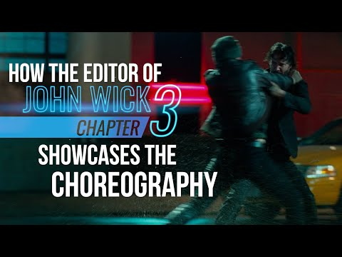 The editing in the John Wick series fight scenes is rare for Hollywood action movies.