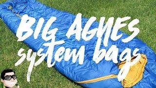Big Agnes System Bags sind die besten Schlafsäcke!!