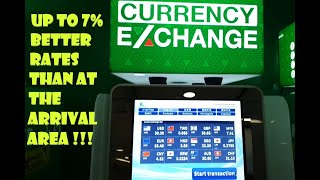 BEST Currency Exchange 2020 at Bangkok Airport  (BKK, Suvarnabhumi) - Will Even Take OLD Bank Notes!