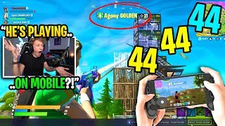 I spectated the BEST MOBILE players ever and was SHOCKED at how good they are... (super intense)