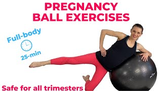 Pregnancy Ball Exercises