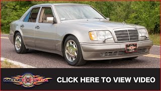 1994 Mercedes-Benz E500 (SOLD)