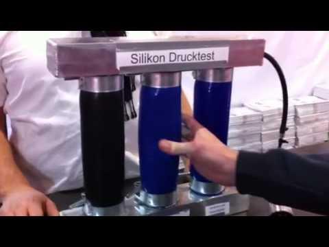TurboZentrum Silikonschlauch Drucktest