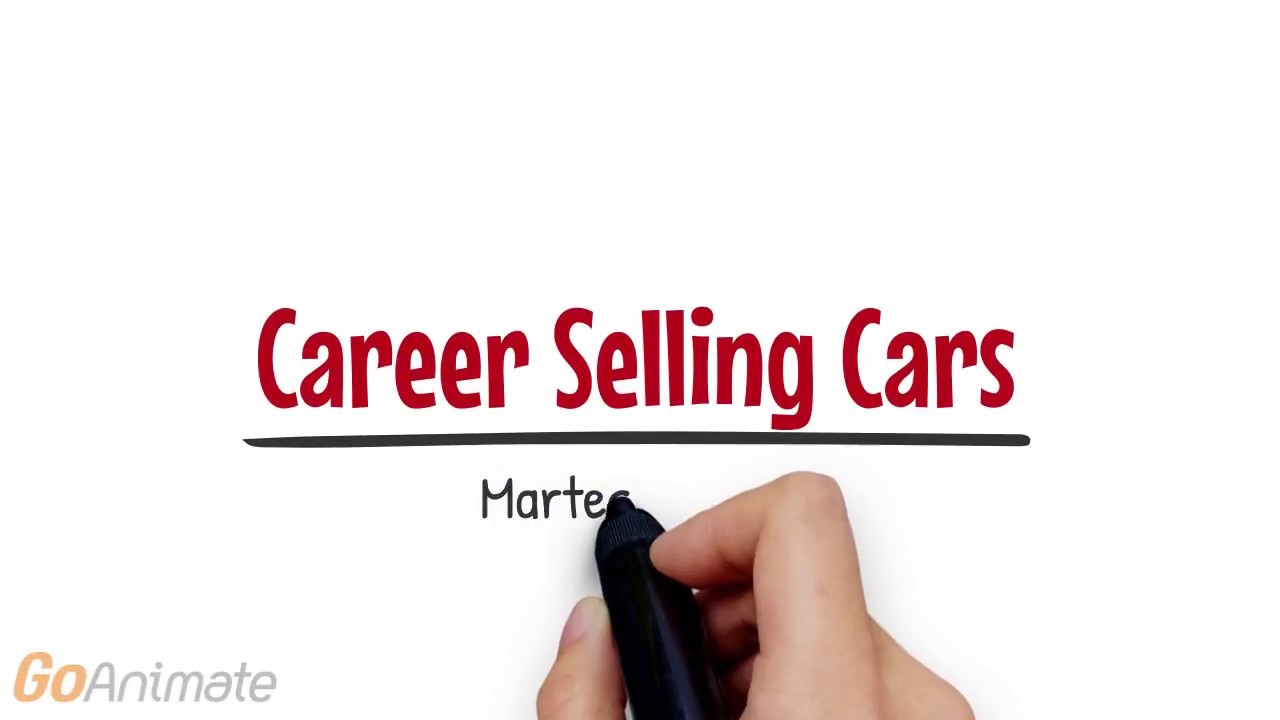 Career Selling Cars