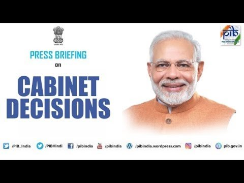 Cabinet Briefing by Union Ministers Prakash Javadekar, Giriraj Singh and Jitendra Singh