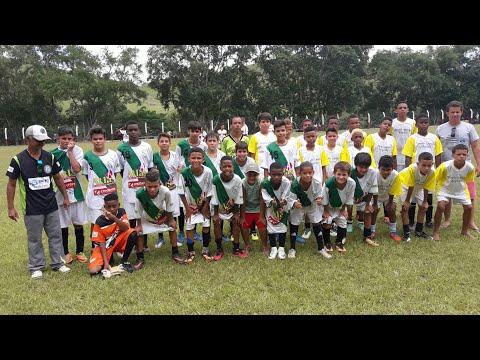 Leopoldina campeão em Argirita - sub 13 LFC