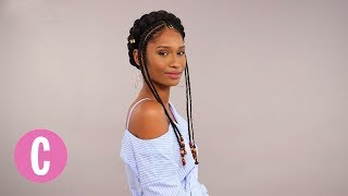Witness The Magic Of Black Hair In This #BlackHairChallenge | The Braid Up | Cosmopolitan