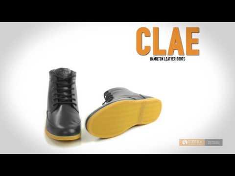 Clae Hamilton Leather Boots (For Men)